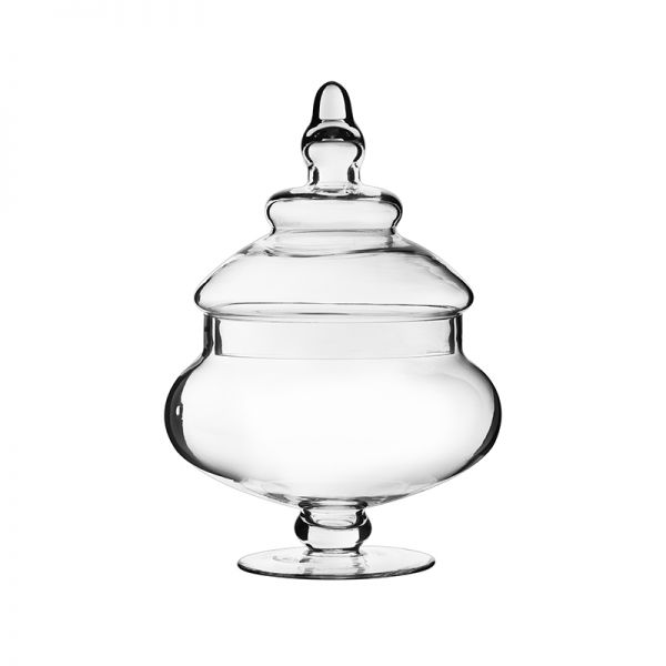 "Apothecary Candy Buffet Jar. H-10"", Pack of 6"