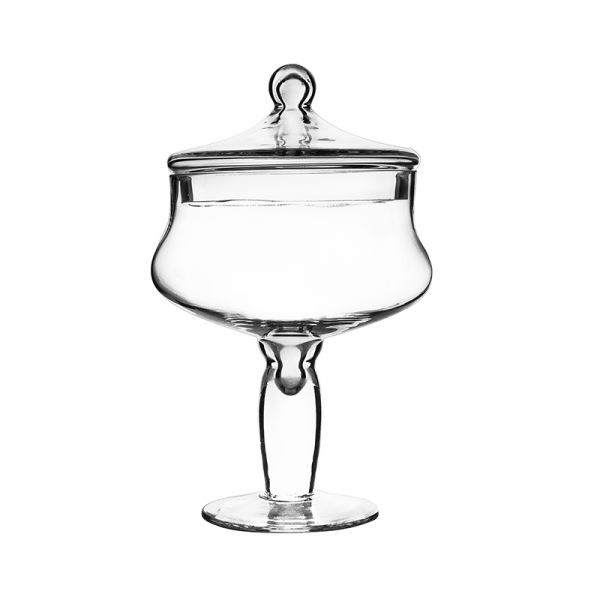 "Apothecary Candy Buffet Jar. H-12"", Pack of 4"