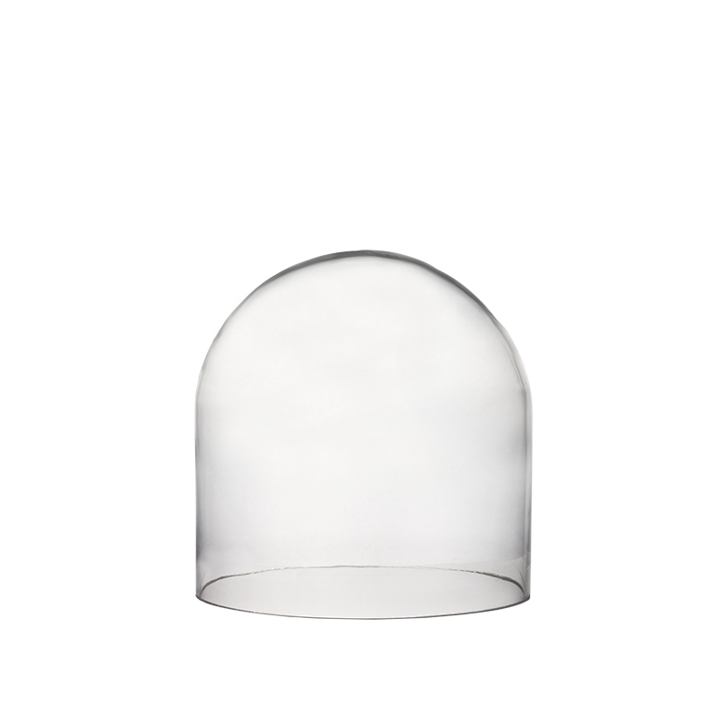 "Glass Cloches. H-10"", Wholesale Pack of 4 pcs"