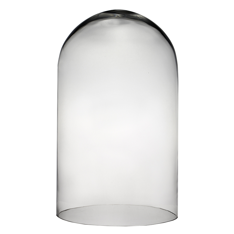 "Glass Cloches. H-19.5"", Wholesale Pack of 2 pcs"