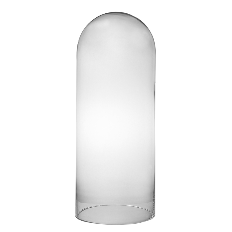 "Glass Cloches. H-21"", Wholesale Pack of 2 pcs"