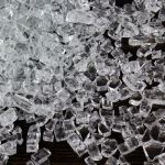 Fire Glass for Fire Pit 10 Pounds, Clear (Free Shipping)