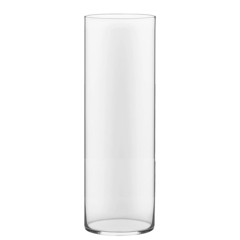 "Glass Cylinder Vases.  H-30"", Open D - 10"", Pack of 1 pc"
