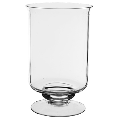 "Hurricane Candle Holder: Clear H-8"", Open-5"" (Pack of 12pcs - $7.10 ea)"
