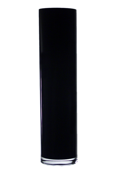 Wholesale Black Cylinder Vase H 1575 Open D 4 Pack Of 4 Pcs