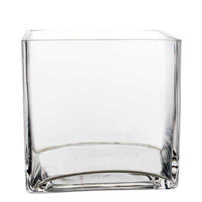 "Cube Vase. H-4"", Pack of 12 pcs"