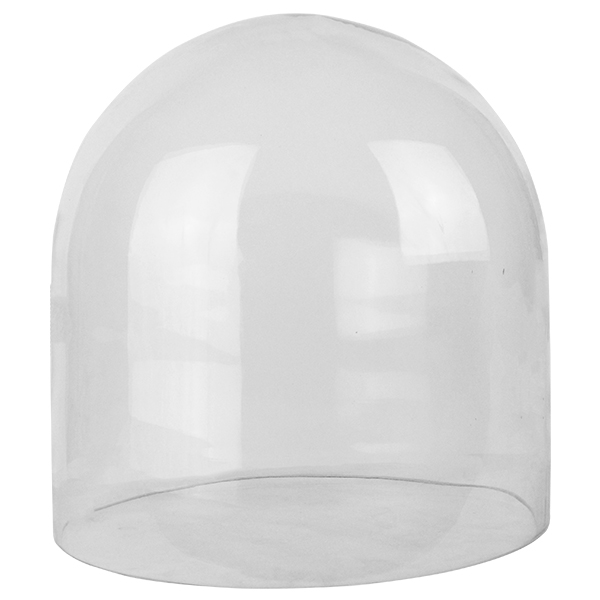 "Glass Cloches. H-12"", Wholesale Pack of 2 pcs"
