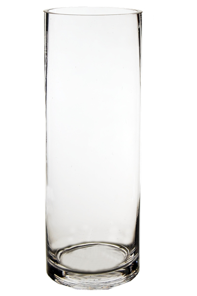 Wholesale Glass Cylinder Vases H 14 Open D 5 Pack Of 6 Pcs