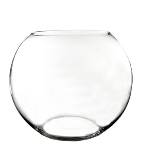 "Jumbo Bubble Fish Bowl. H-15"", Pack of 2 pcs"