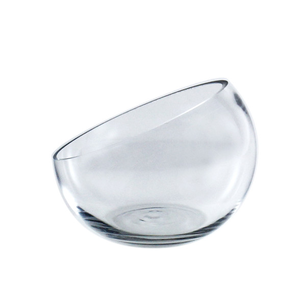 "Half Cut Slant Cut Bowl. H-4.5"", Pack of 18 pcs"
