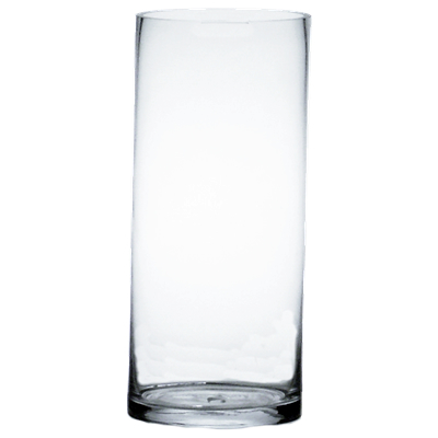 Wholesale Glass Cylinder Vases H 30 Open D 10 Pack Of 2 Pcs