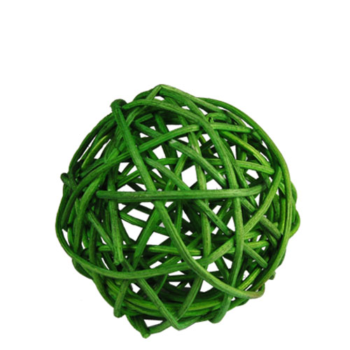 "Twig Ball Vase Fillers: GreenMedium D-3""(Pack of 30 bags - $2.40/bag)"