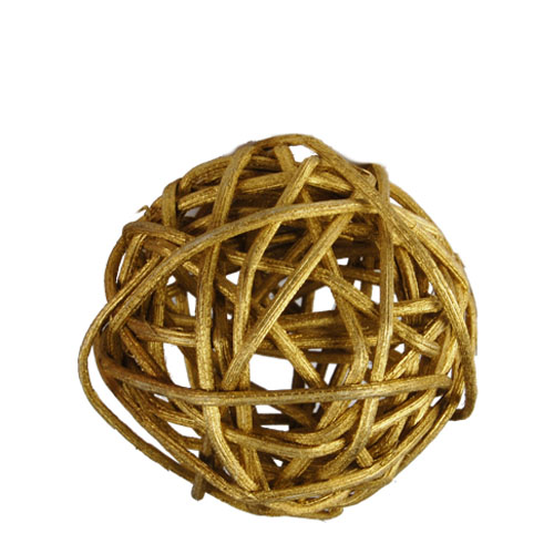 "Twig Ball Vase Fillers: GoldMedium D-3""(Pack of 30 bags - $2.60/bag)"