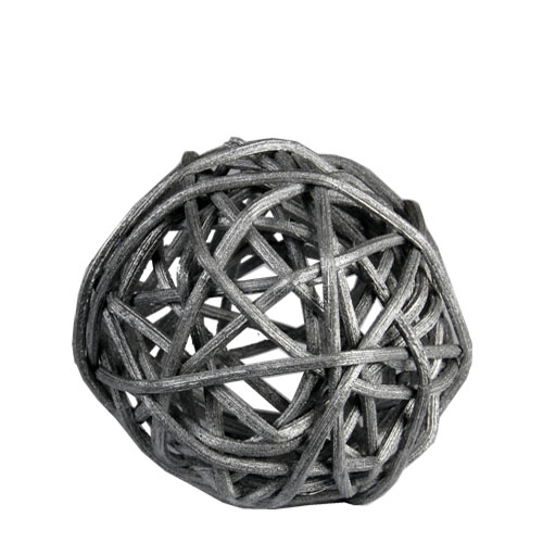 "Twig Ball Vase Fillers: SilverMedium D-3""(Pack of 30 bags - $2.60/bag)"