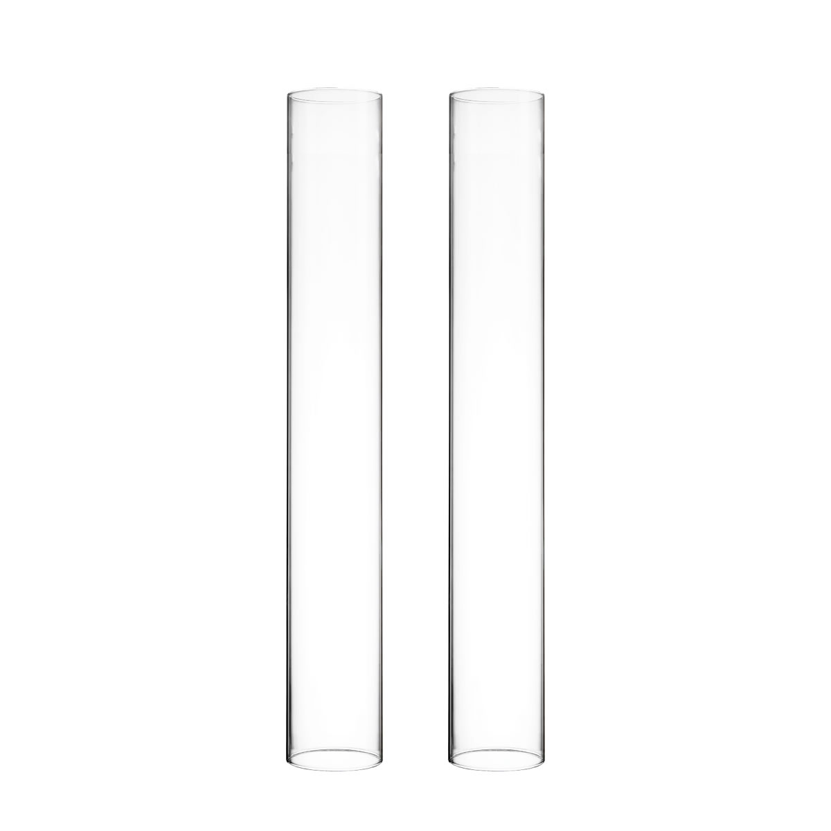 "Open End Hurricane Candle Shade. H-18"", Pack of 24 pcs"