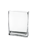 "Rectangle Vase. H-10"", Pack of 8 pcs"
