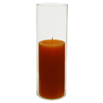 "Open End Hurricane Candle Shade. H-9.5"", Pack of 36 pcs"