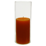 "Open End Hurricane Candle Shade. H-9.5"", Pack of 24 pcs"