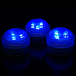 Blue Submersible LED Lights (Pack of 6pcs) Free Shipping