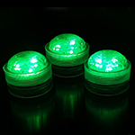 Green Submersible LED Lights (Pack of 6pcs) Free Shipping