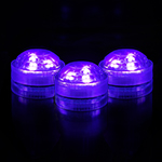 Violet Submersible LED Lights (Pack of 6pcs) Free Shipping