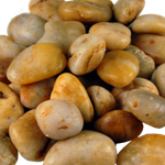 24 lbs River Rock: Polished Amber (Pack of 12 Bags - $2.59/Bag) *FREE SHIPPING*