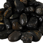 24-lbs River Rock: Polished Black (Pack of 12 Bags - $2.59/Bag) *FREE SHIPPING*