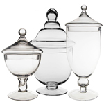 Candy Buffet Apothecary Jars (SET of 3)