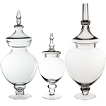 Candy Buffet Apothecary Jars (SET of 3) *GAJ115, GAJ116, GAJ117*