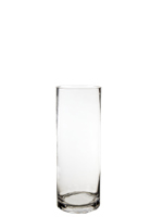 "Glass Cylinder Vases. H-14"",  Open D - 5"" , Pack of 6 pcs"