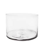 "Glass Cylinder Vases.  H-8"", Open D - 12"" , Pack of 3 pcs"