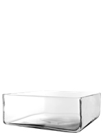 "Square Vase. H-5"", Pack of 2 pcs"