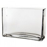 "Rectangle Vase. H-7"", Pack of 6 pcs"