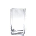 "Rectangle Vase. H-12"", Pack of 6 pcs"