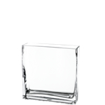 "Rectangle Vase. H-8"", Pack of 12 pcs"