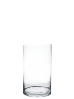 "Glass Cylinder Vases.  H-20"", Open D - 10"", Pack of 2 pcs"