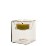 "Reversible Square Tealight Candle Holder. H-2.5"", Pack of 144 pcs"