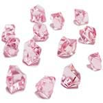 Acrylic Rocks Vase Fillers, Pack of 24 bags, Color: Pink
