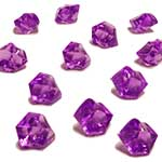 Acrylic Rocks Vase Fillers, Pack of 24 bags, Color: Violet