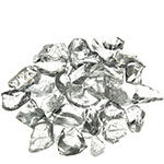 Crushed Colored Glass. Color:  Clear, Pack of 24 bags
