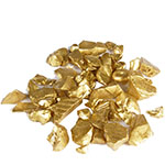 Crushed Colored Glass. Color:  Gold, Pack of 24 bags