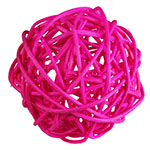 "Twig Ball Vase Fillers: PinkLarge D-4""(Pack of 15 bags - $3.90/bag)"