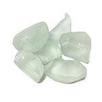 Frosted Sea Glass. Color:  Frosted Clear, Pack of 24 bags