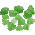 Frosted Sea Glass. Color:  Frosted Green, Pack of 24 bags