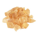 Frosted Sea Glass. Color:  Frosted Light  Peach, Pack of 24 bags