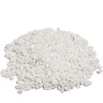 Crushed Colored Rocks, Pack of 12 bags, Color: White