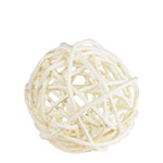 "Twig Ball Vase Fillers: WhiteMedium D-3""(Pack of 30 bags - $2.40/bag)"