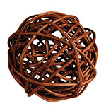 "Twig Ball Vase Fillers: BrownLarge D-4""(Pack of 15 bags - $3.90/bag)"
