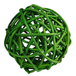 "Twig Ball Vase Fillers: GreenLarge D-4""(Pack of 15 bags - $3.90/bag)"