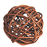"Twig Ball Vase Fillers: Light BrownLarge D-4""(Pack of 15 bags - $3.90/bag)"